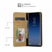 Samsung Canvas Wallet Phone Case Cover